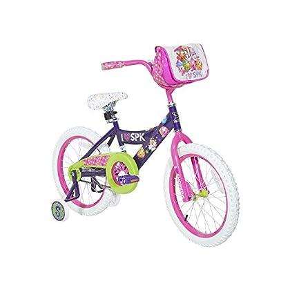 Shopkins Girls Dynacraft Bike Purple Pink Green White 18'