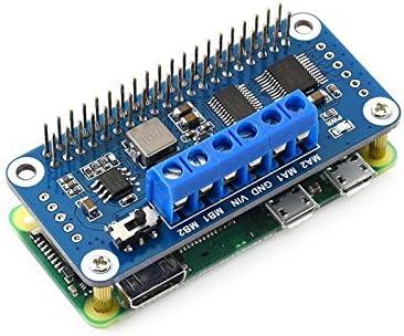 I2C Interface Compatible with Raspberry Pi Zero//Zero W//Zero WH//2B//3B//3B+ ALLPARTZ Waveshare Motor Driver HAT Board for Raspberry Pi