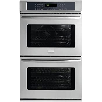 """FGET3045KF Gallery Series 30"""" Double Electric Wall Oven with 4.2 cu. ft. Upper True Convection Oven Convection Conversion One-Touch Self Clean and Star-K Certified Stainless"""