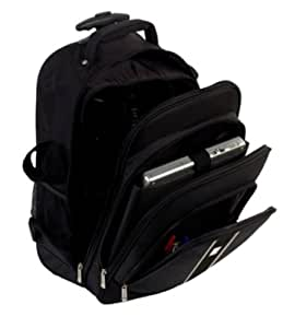 Urban Factory Mission Trolley Backpack Photo - Funda (Negro, Poliéster, Nylon, 1,45 kg, 470 x 460 x 220 mm)
