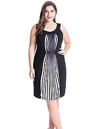 Amazon.com: 5X - Dresses / Plus-Size: Clothing, Shoes & Jewelry