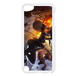 iPod Touch 5 Case White League of Legends Pickpocket Twitch QH1798354