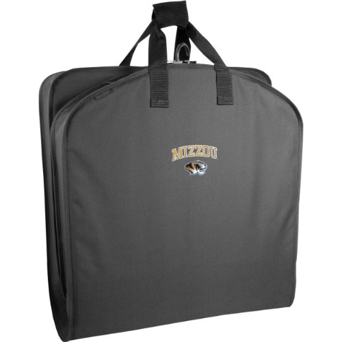 WallyBags Missouri Tigers 40 Inch Suit Length Garment Bag,Black MU,One (Wally Bags 40 Suit)