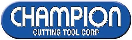 Champion Cutting Tool DE 4 Fl Center Cut M42 Cobalt M42 F & P Multi-Flute End Mill (607Co-1/4)