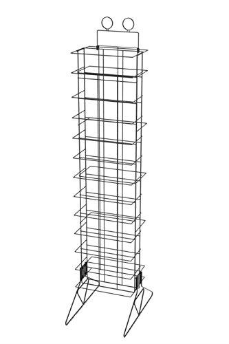 FixtureDisplays Wine Bottle Rack Liquor Rack Wire Metal Champagne Display Bar Storage Stand 19413! by FixtureDisplays