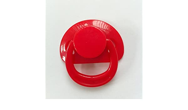 Kiddies Korner Renacido Chupete Magnética para Muñecas (Rojo): Amazon.es: Hogar