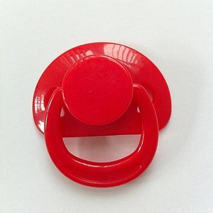 Kiddies Korner Renacido Chupete Magnética para Muñecas (Rojo)
