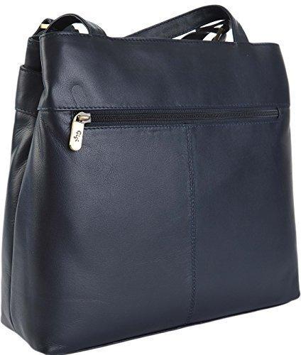 Gigi - Bolso al hombro para mujer Varios colores negro Azul Marino