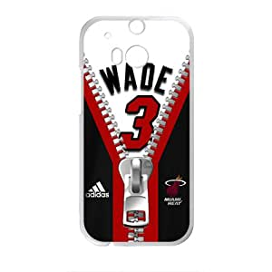 New Style Wade 3 Zipper Design Plastic Case Cover For HTC M8