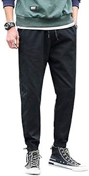 N/ A Men's Pants Overalls Casual Pants Korean Version of The Slim feet Sport Ca