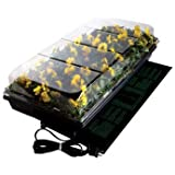 """Jump Start,CK64050 Germination Station w/UL Listed Heat Mat, Tray, 72-Cell Pack, and 2"""" Dome"""