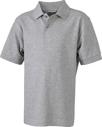 Klassisches Hochwertiges Polohemd (S - 3XL) S,grey-heather