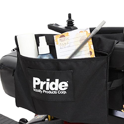Pride Mobility LARGE Dual Saddle Armrest Mount Bag for Sc...