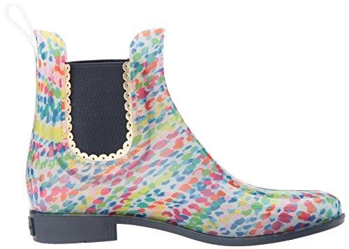Jack Rogers Womens Sallie Print Rainboot Rain Boot Multi Stampa