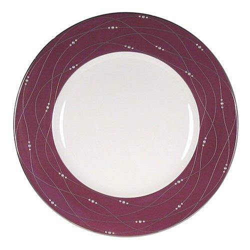 Royal Doulton Precious Platinum 9-Inch Accent Plate, (Royal Doulton Platinum Bowls)