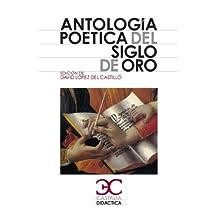 Antología poética del siglo de oro (Castalia Didáctica. C/D.)