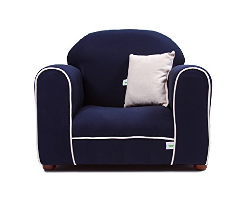 - Keet Premium Organic Children's Chair, Navy
