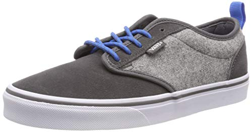 Vans Hombre Para white Gray outdoor Atwood Ugw Zapatillas Suede Gris A6SPq