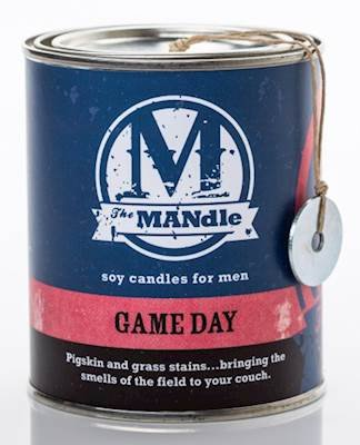 ECO CANDLE GAME DAY - The MANdle Scented Candle