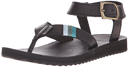 Women's Sandal Sandal Original Teva Leather Black pFqUFwx8