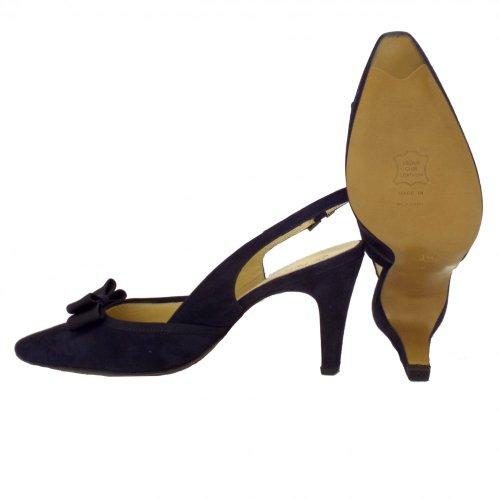 Daim Marine Suede En Chaussures Tanina Kaiser Slingback Notte Mesdames Peter qYzw0Z
