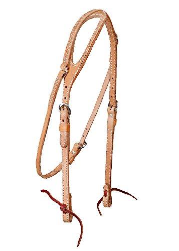 Colorado Saddlery The Harness One Ear Headstall, 5/8