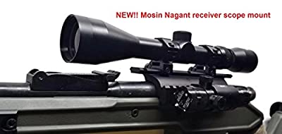 Mosin Nagant double rail scope mount - Made in USA by Funding USA LLC