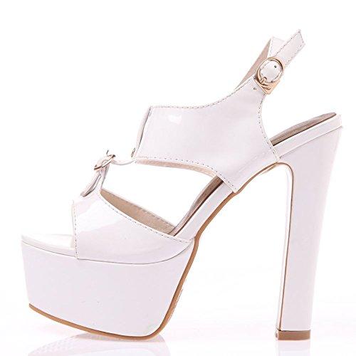 White Platform Dress Formal High Sandals Women's Heel SaraIris Pump 8vqxF6Yw