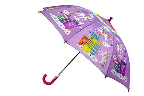 Unicorn Color Change Umbrella Lavender -