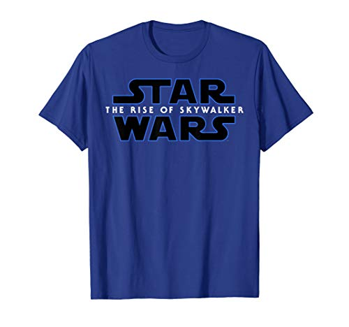 Star Wars The Rise Of Skywalker All Movie Logos Back C2 T-Shirt