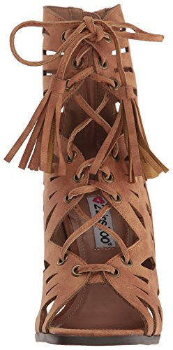 2 Lips Too Women Rewind Dress Sandal Tan