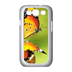 Cases for Samsung Galaxy S3, Butterfly 9 Cases for Samsung Galaxy S3, Evekiss White