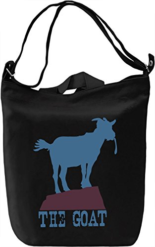 the Goat Borsa Giornaliera Canvas Canvas Day Bag| 100% Premium Cotton Canvas| DTG Printing|
