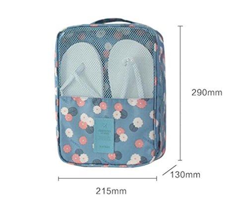 XIAOMEIXI Schuhe Lagerung Tasche wasserdicht tragbar funktionelle große Kapazität Schuh Tasche für Reisen