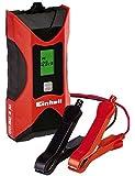 Einhell Batterie Ladegerät CC-BC 4 M (für Batterien von 3 bis 120 Ah, Ladespannung 6 V/12 V, Winterlademodus, LCD-Batteriespannungs- und Ladeforschrittsanzeige)