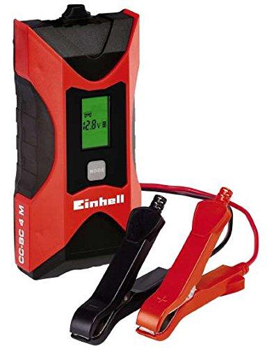 Einhell Cargador Bateria (CC-BC 4 M) con Control Micro-Processor Voltaje 6/12v (ref. 1002221)