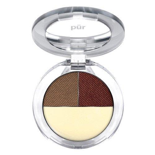PÜR Brow Perfection Trio, Brow Shaping Powder and Wax, 0.2 Ounce