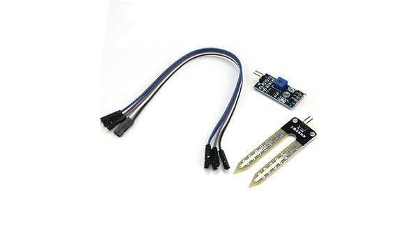 Nuevo Módulo Higrómetro Sensor de Humedad Suelo Detección Agua para Arduino PIC: Amazon.es: Industria, empresas y ciencia