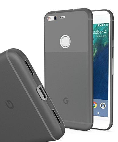 watch 73c94 bb21d Google Pixel MNML Thin Case (Clear Black) - Import It All