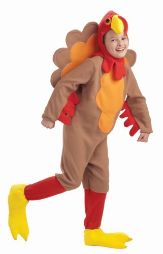 Forum Novelties Fleece Turkey Costume, Child's (Child Turkey Costume)