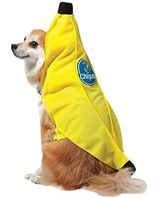 Rasta Imposta Chiquita Banana Dog Costume