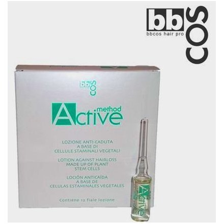 bbcos Method Active Hairloss Made of Plant Stem Cells 12-Ampules/PK