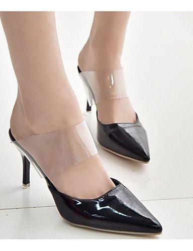 GGX  Damen-High Heels-Lässig-Lackleder-Stöckelabsatz-Absätze-Schwarz     Blau   Lila   Weiß B01KL7X31O Sport- & Outdoorschuhe Offizielle Webseite f8d96f