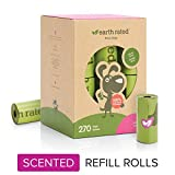 Earth Rated Dog Poop Bags, 270 Extra Thi...