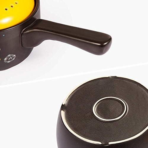 MissZZ Pot à Lait Pot en céramique Pot en Argile pour la Cuisine de Restaurant de Cuisine à Domicile, bac à Lait résistant aux températures élevées de 1,6 L Facile à Nettoyer