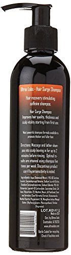 Ultrax Labs Hair Surge | Caffeine Hair Loss Hair Growth Stimulating Shampoo 8 oz