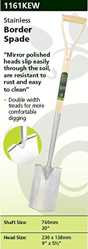 Spear & Jackson Kew Collection Stainless Border Spade
