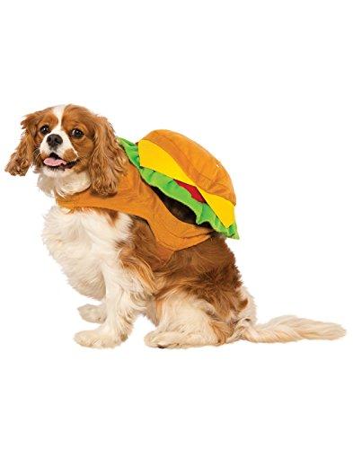 Rubie's Hamburger Dog Costume, Large ()