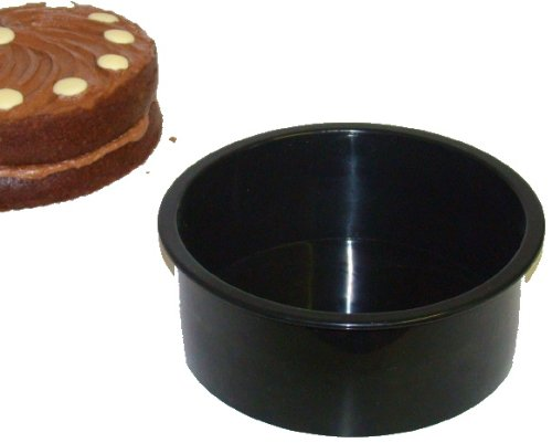 WellBake Deep 20cm (8inch) Cake Mould Dish: Heavy Duty Non-Stick Silicone Bakeware + 10 Year Guarantee 201200