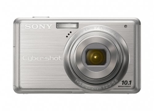 (Sony Cybershot DSC-S950 10MP Digital Camera with 4x Optical Zoom with Super Steady Shot Image Stabilization (Silver))